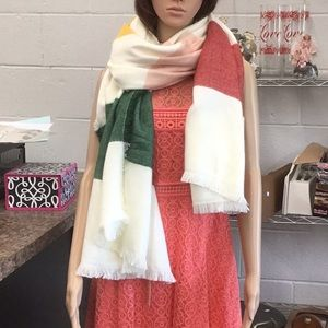 Madewell blanket Scarf